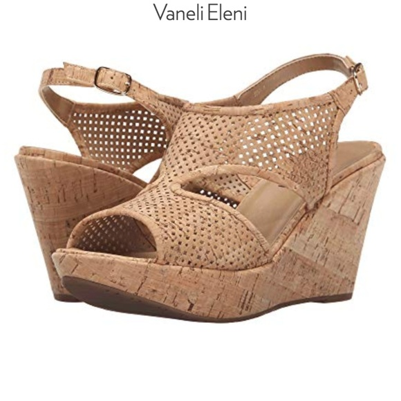 4c541367ac Vaneli Eleni Natural Cork Wedge Sandals. M_5b563f84619745cb99f1fdc5